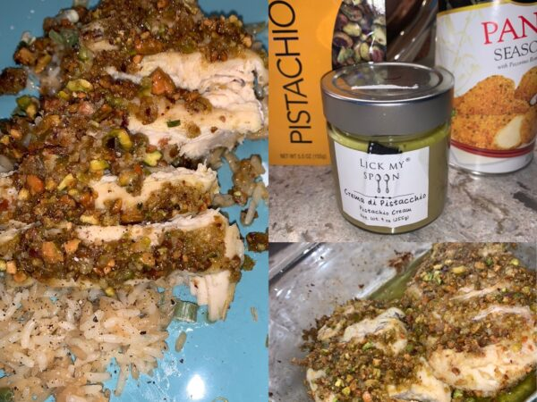 Honey Roasted Pistachio-Crusted Chicken: Fantasy Football Chick Original Recipe