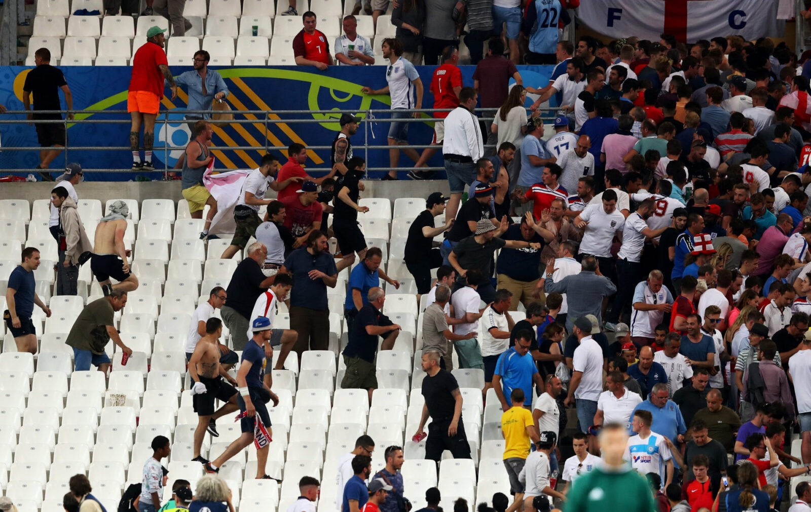 Russian Uefa clash
