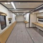 command trailer interior
