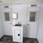 drug testing trailer hand wash sink