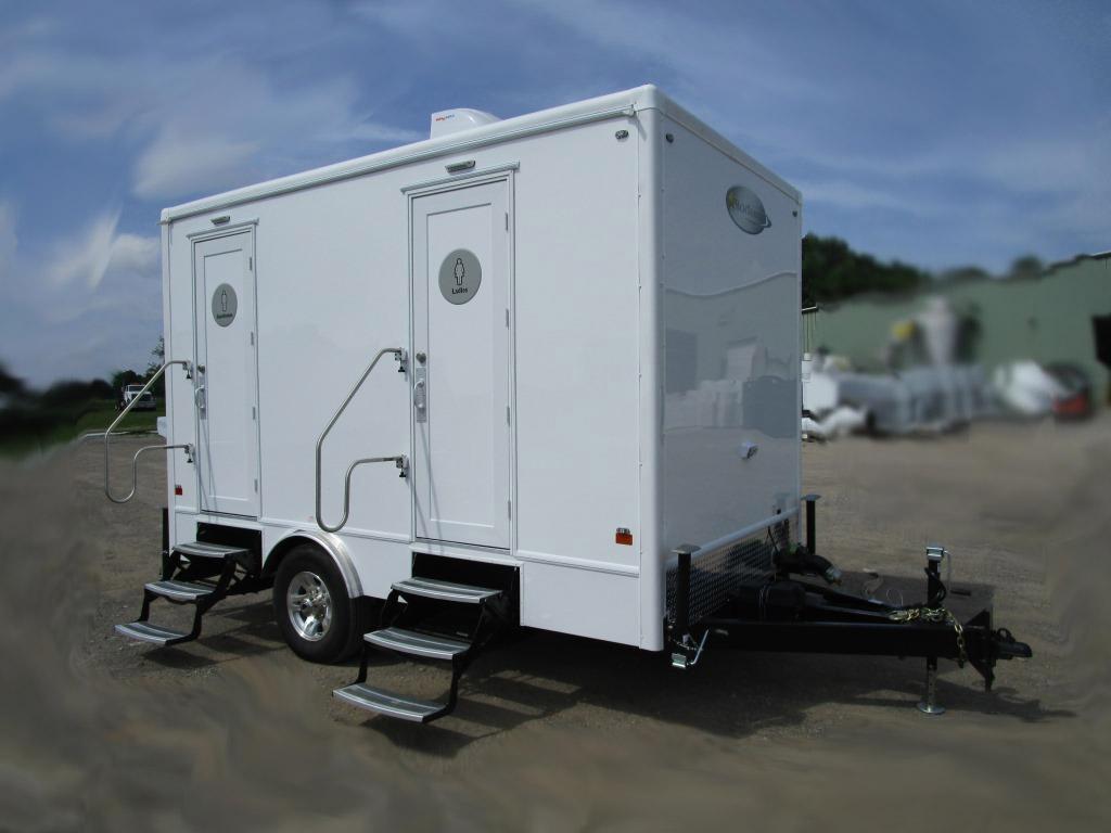 fire fighter restroom trailer