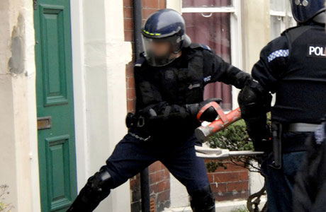 Police at the Door 4