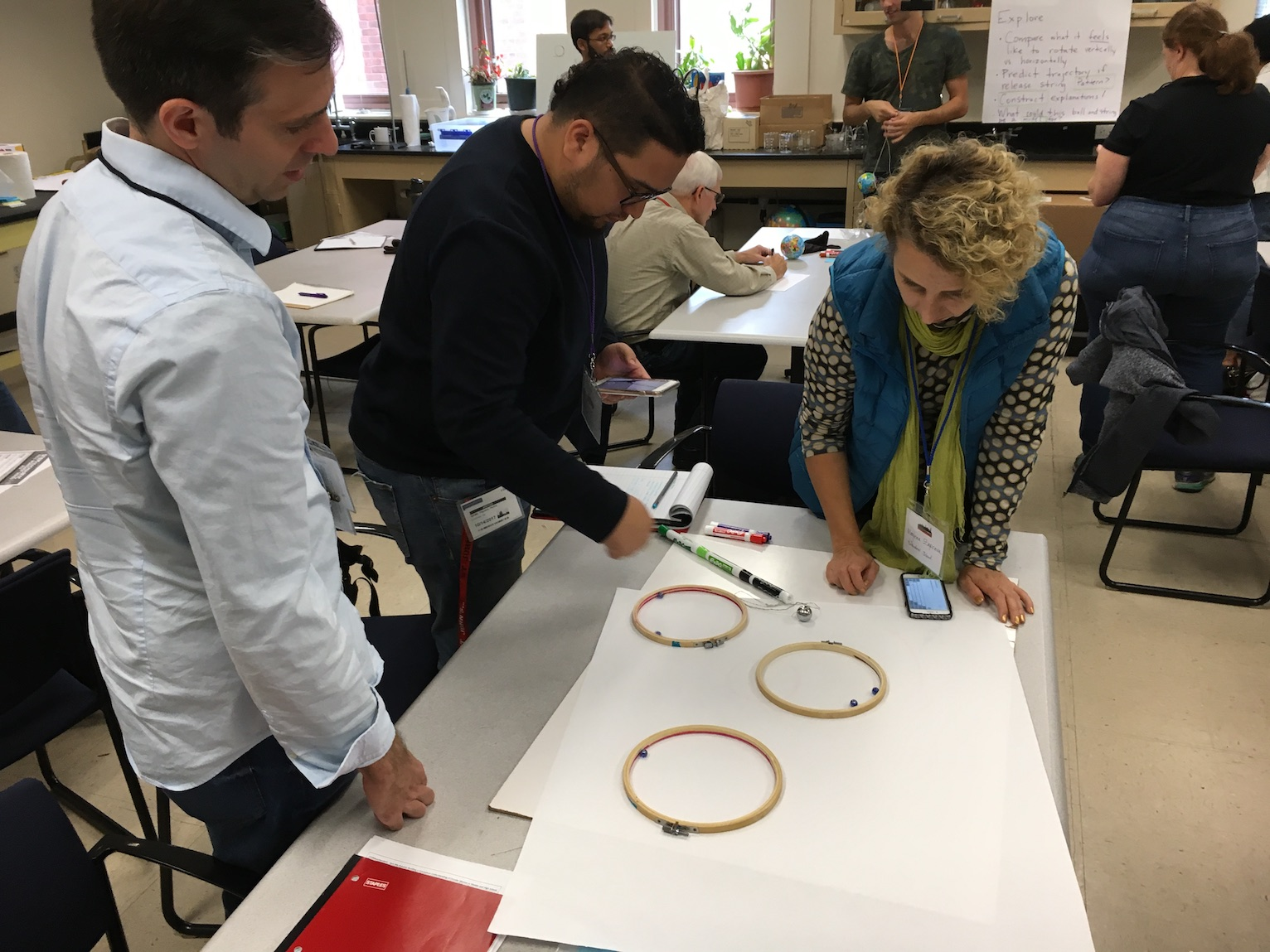 Designing for Discourse and Sensemaking in Physics Class