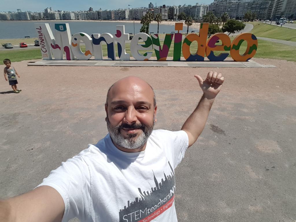 STEMteachersNYC Fan in Uruguay!