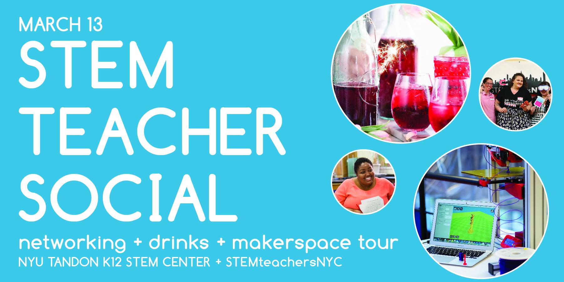 STEM Teacher Social at NYU!