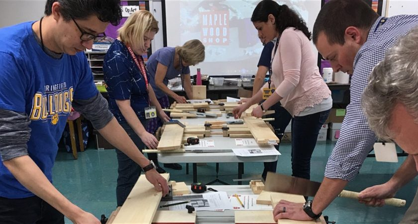 Creating in any Classroom! Woodworking for Teachers
