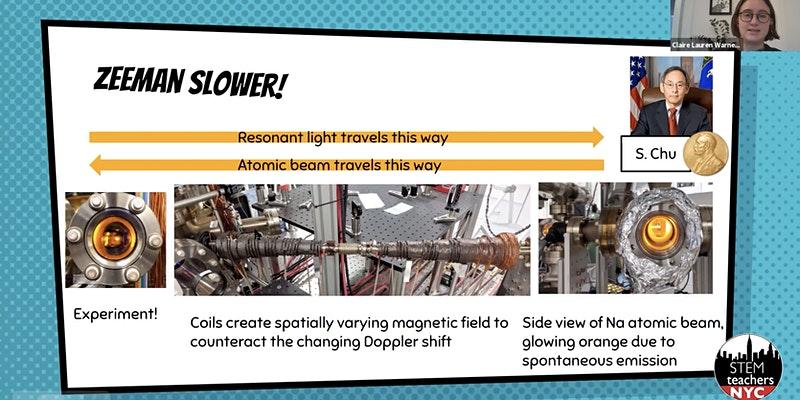 FREE! Modern Atomic Physics for Teachers: Laser Cooling!