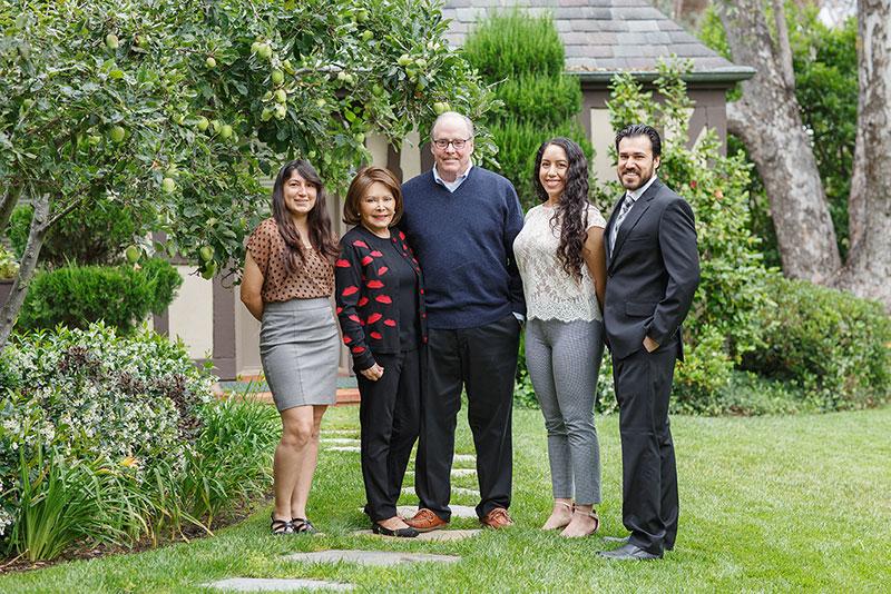Arline Radillo Green and Family
