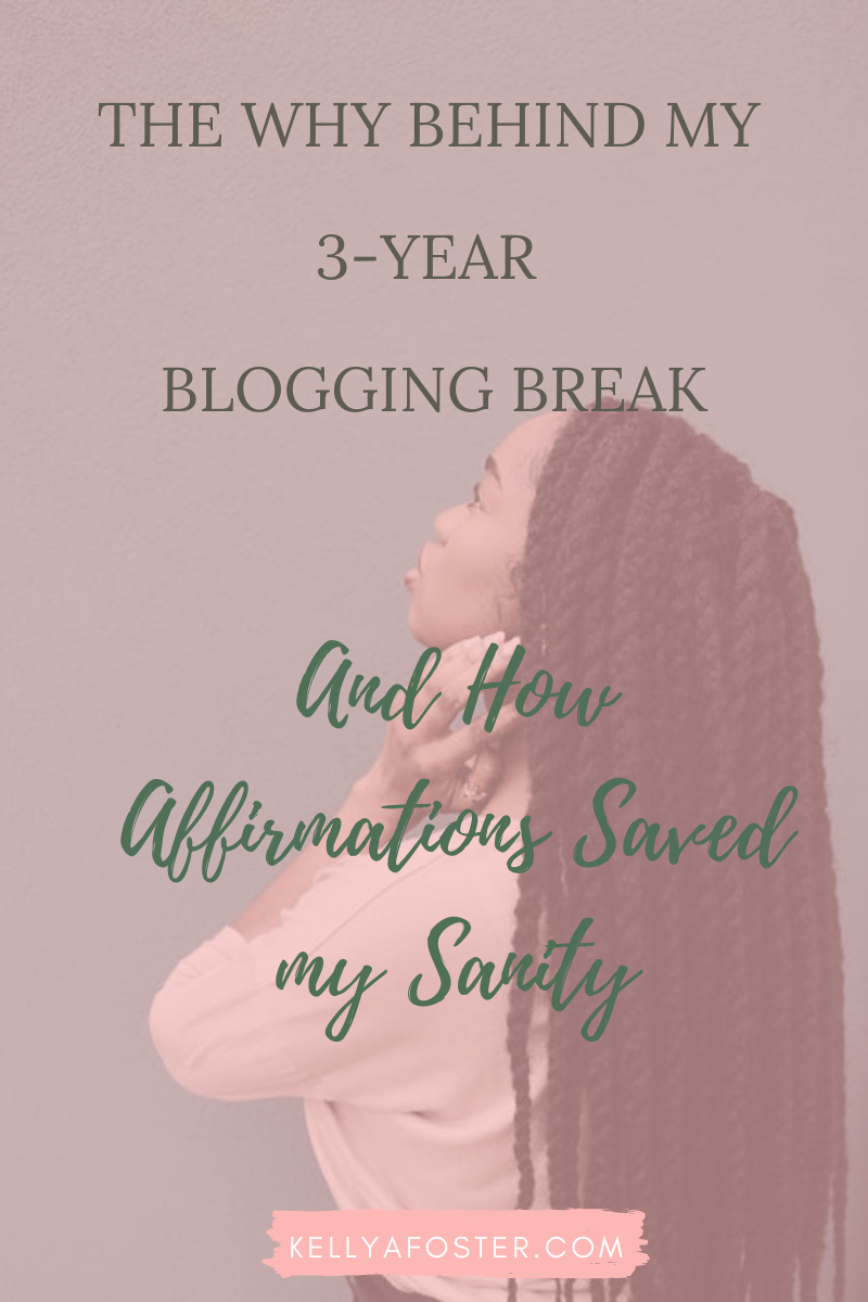 Blog Updates + Affirmations