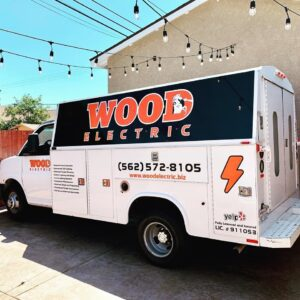 wood electric truck