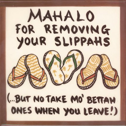 Banana Patch Studio Mahalo for Removing Your Bikini