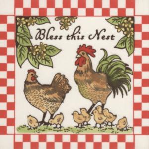 Bless this nest tile