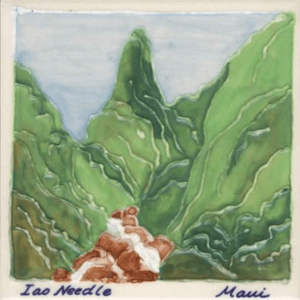 Iao Needle Hawaii Landscape Tile