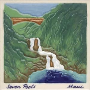 Seven Pools Scenic Tile