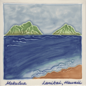 Mokulua Islands Scenic Tile