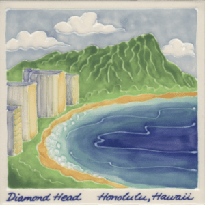 Diamond Head Scenic Tile