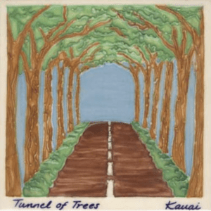 Tree Tunnel Scenic Tile