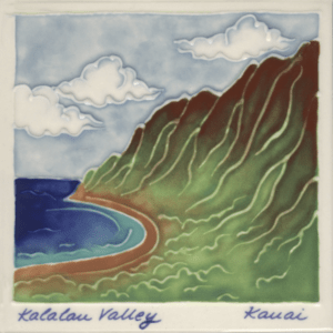 Kalalau Valley Scenic Tile