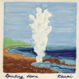 Spouting Horn Scenic Tile