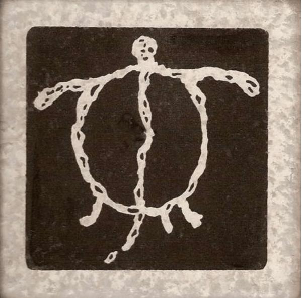 Black Lava Honu Coasters