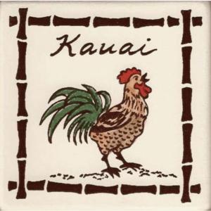 Kauai Rooster Coasters