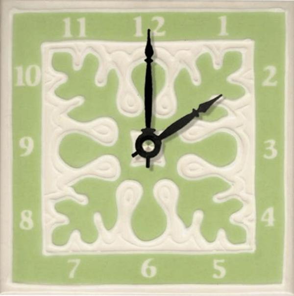 """Ulu Quilt 6"""" Clock"""