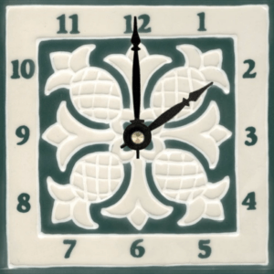 "Pineapple Quilt 6"" Clock"