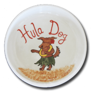 Hula Dog Bowl