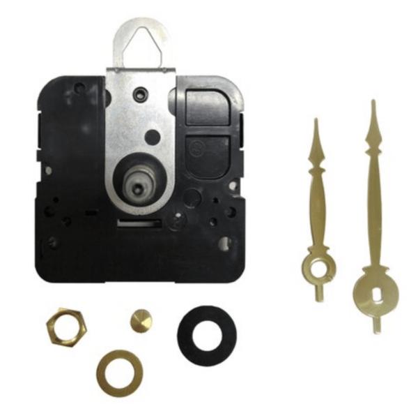Lg. Quartz Tile Clock Replacement Motor Kit Gold