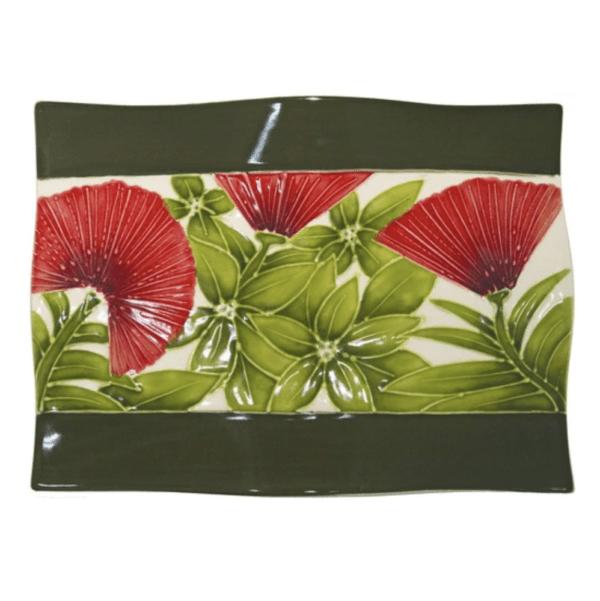 Flare Sushi Plate Ohia Lehua 1042