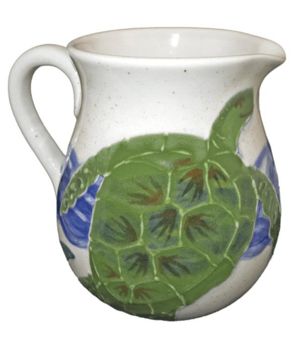 Litre Pitcher Embossed Honu (Turtle)
