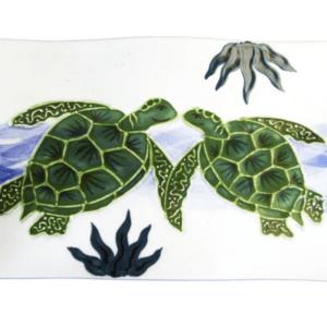 Flare Sushi Platter Embossed Honu (Turtle)