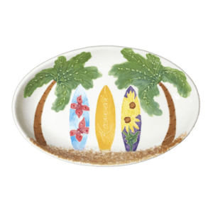Oval Coupe Platter Hawaiian Surfboards