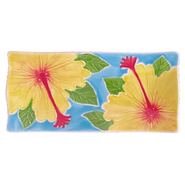 Yellow Hibiscus Flare