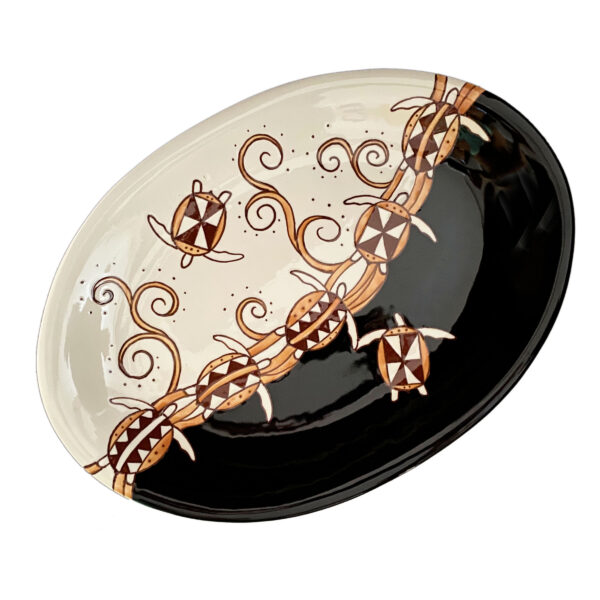 Oval Coupe Platter TH