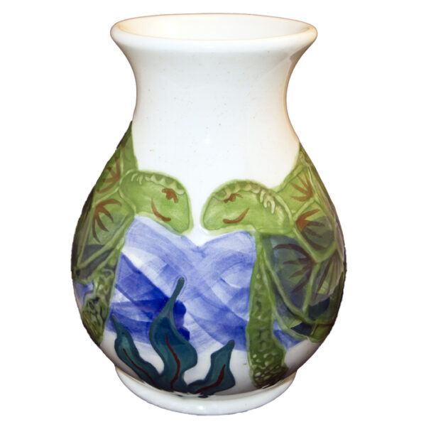 Embossed_Honu_wide_vase1