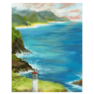Kilauea Lighthouse Giclée
