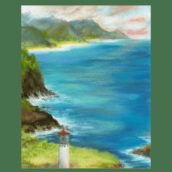 Kilauea Lighthouse Giclée