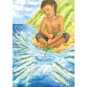 Makalei Greeting Card
