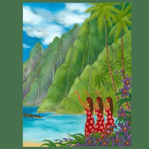 Na Pali Aloha Giclée