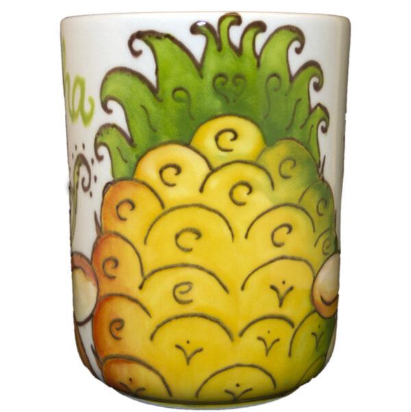 Coffee Mug 16oz Sugarloaf Pineapple