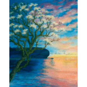 Plumeria at Shipwreck Beach Giclée