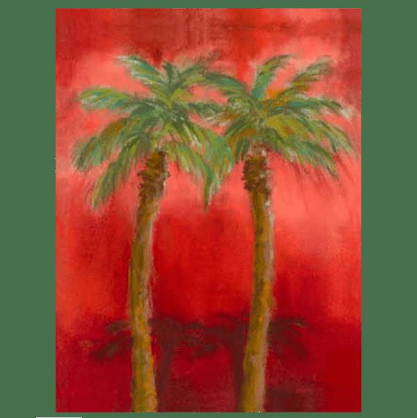 Royal Palms Giclée