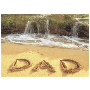 Dad (Salt Pond Beach) Greeting Card