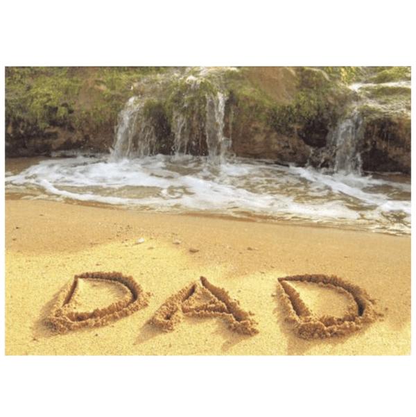 Dad (Salt Pond Beach) Greeting Card