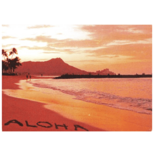 Aloha (Waikiki) Greeting Card