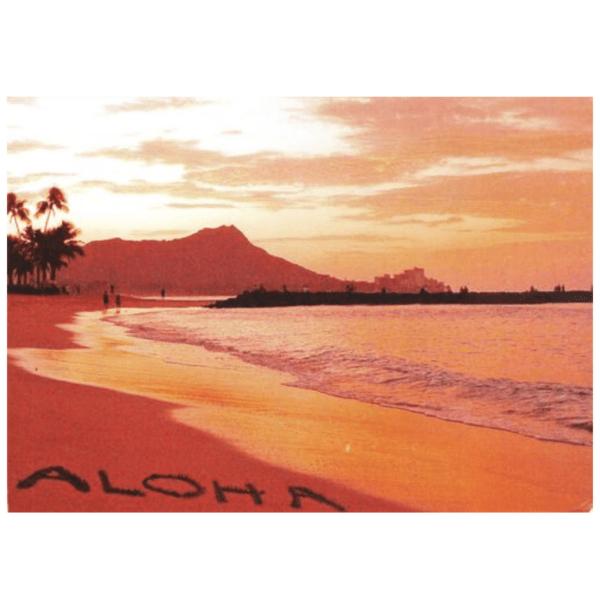 Aloha (Waikiki) Greeting Card