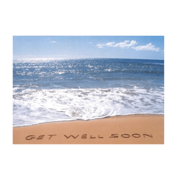 Get Well Soon (Shipwreck's Beach) Greeting Card