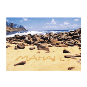 Mahalo (Waiohai Point) Greeting Card