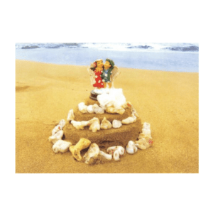 Wedding Cake (Kaumakani Beach) Greeting Card